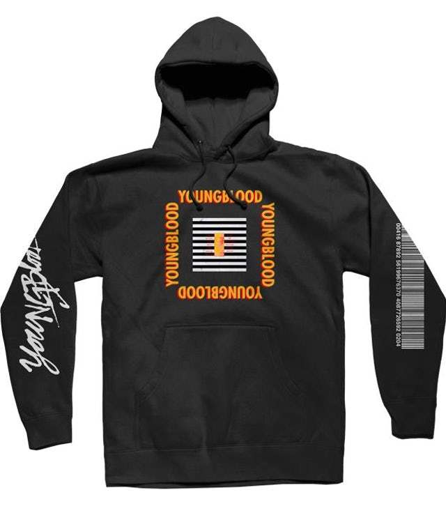 5 Seconds Of Summer BLACK YOUNGBLOOD HOODIE