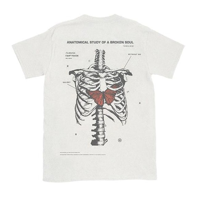 Halsey Without Me Tee (White)