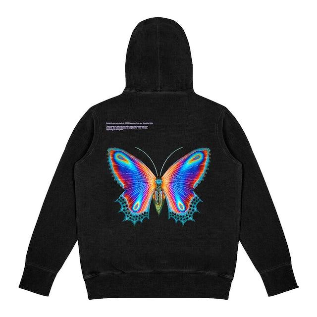 Halsey Multicolor Butterfly Hoodie