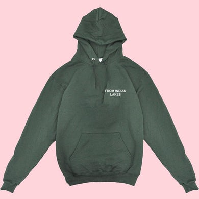 From Indian Lakes EMBROIDERED HOODIE