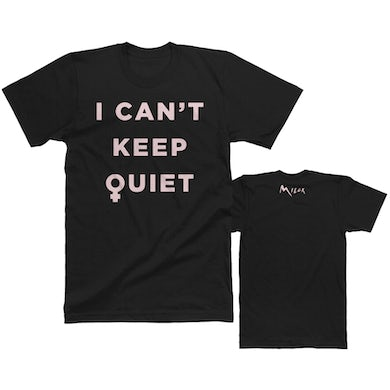 MILCK I Can't Keep Quiet Tee