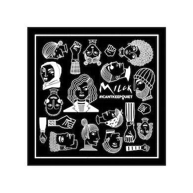 MILCK #ICANTKEEPQUIET Bandana (Black)