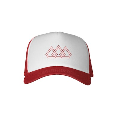 The Score Red Brim Crown Hat