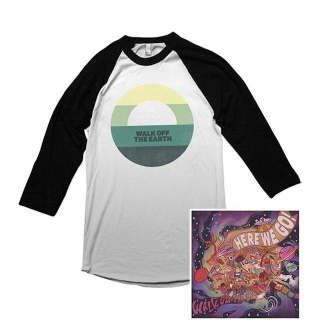 Walk Off The Earth Sunset Raglan + Digital Album