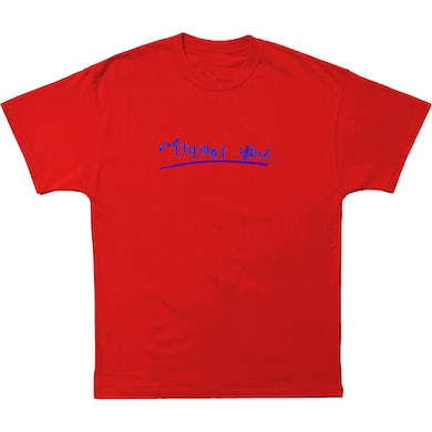 Lauv WITHOUT YOU RED TEE