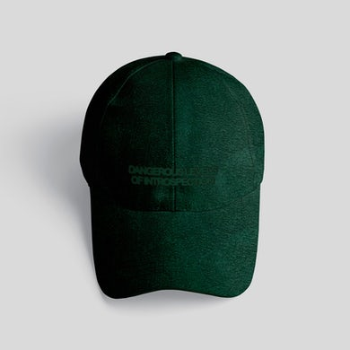 DANGEROUS LEVELS OF INTROSPECTION FOREST GREEN DAD HAT