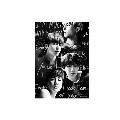 WINNER EVERYD4Y ART POSTER_GRAY