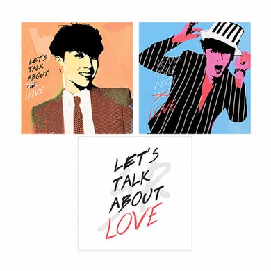 BIGBANG LET'S TALK ABOUT LOVE ARTWORK