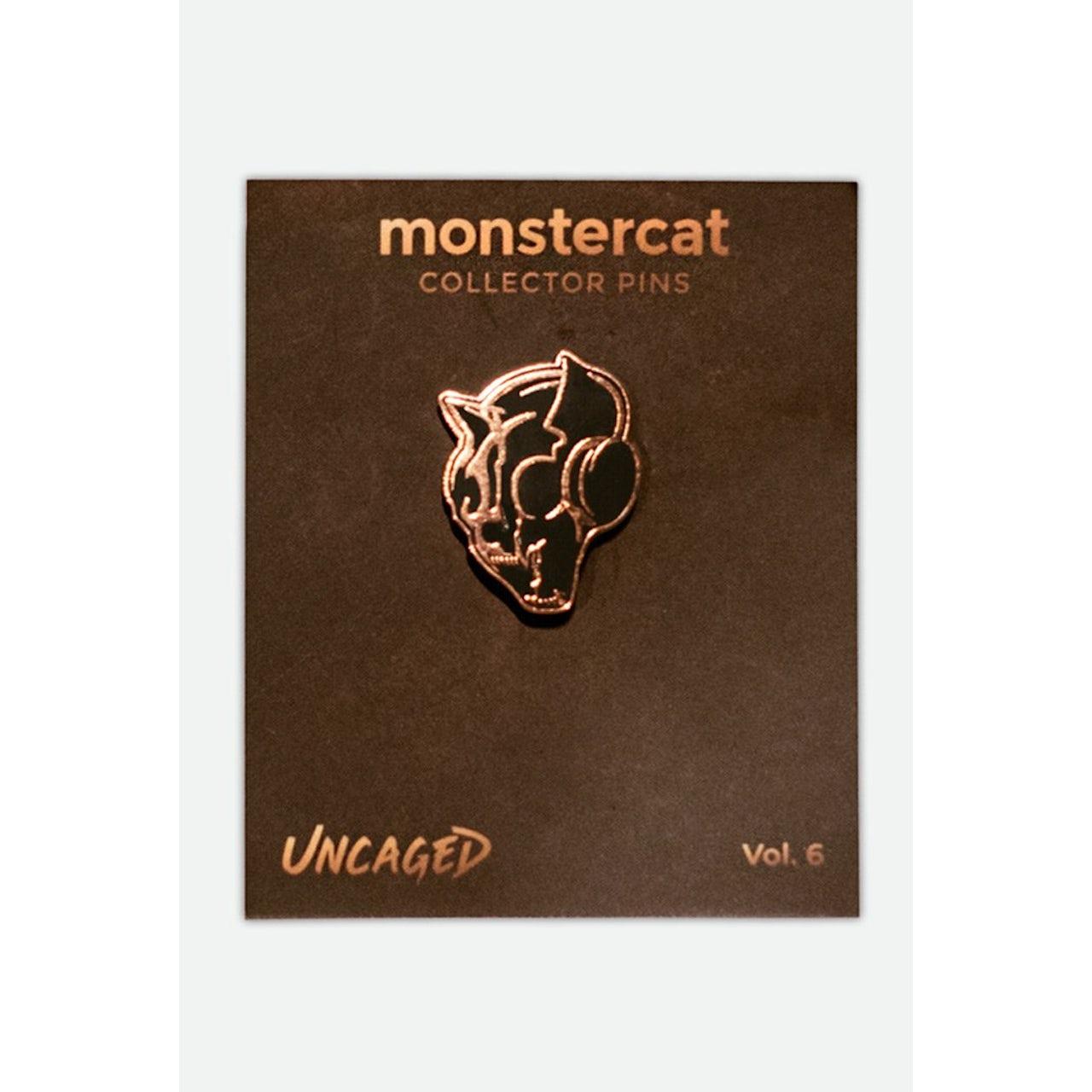 Monstercat Uncaged Vol  6 Enamel Pin