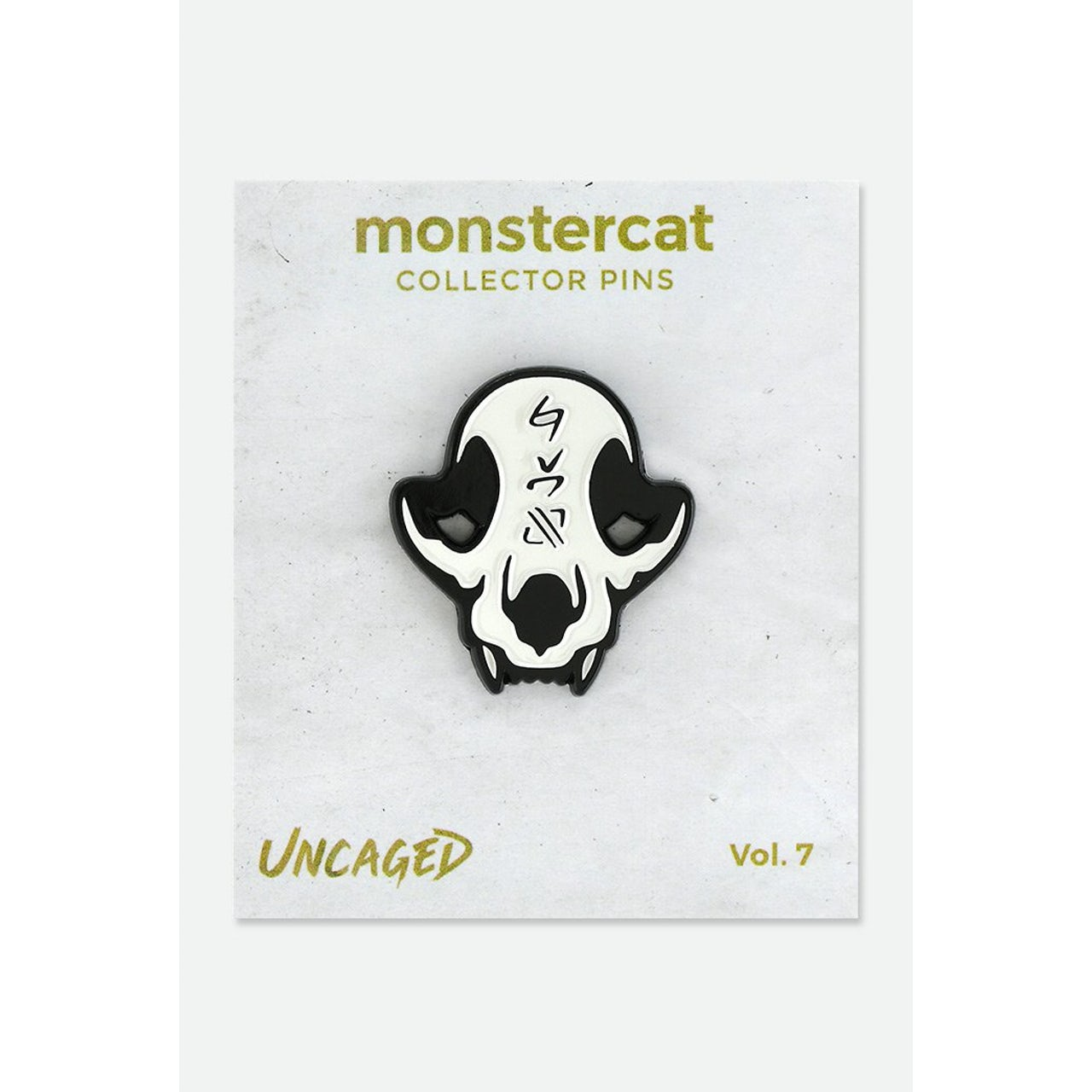 Monstercat Uncaged Vol  7 Enamel Pin