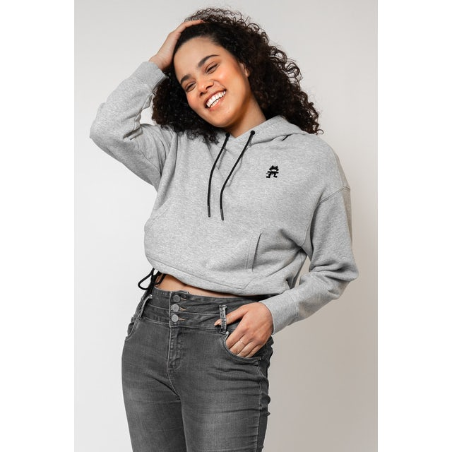 Monstercat Icon Cropped Hoodie