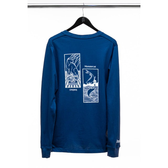 Monstercat Instinct Vol. 5 Mens Lush Long Sleeve T-Shirt