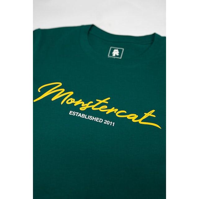 Monstercat Script Hi-Lo Longsleeve T-Shirt