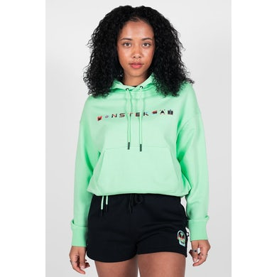 Yu Maeda Womens Cropped Hoodie
