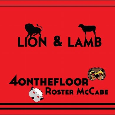 "the 4onthefloor Lion & Lamb (7"")"