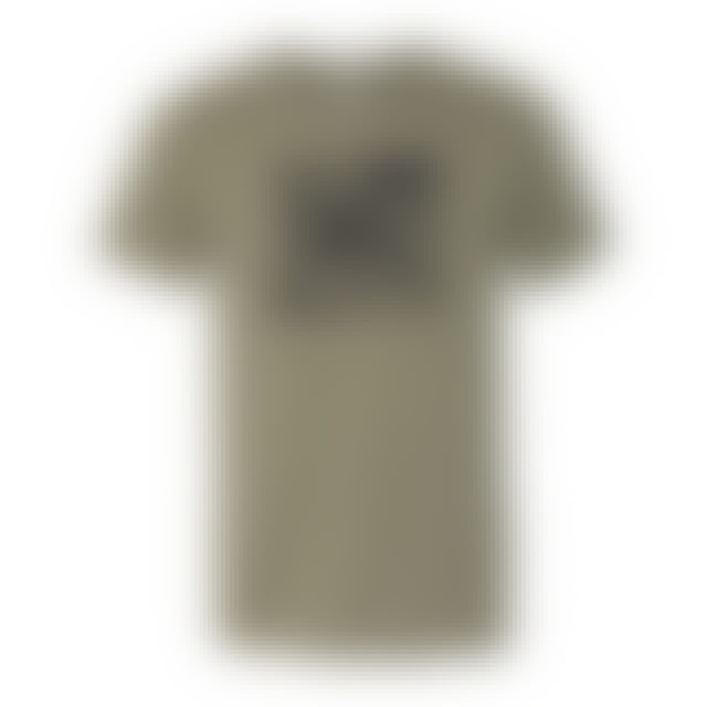 Charlie Parr Stamp Tee (Heather Olive)