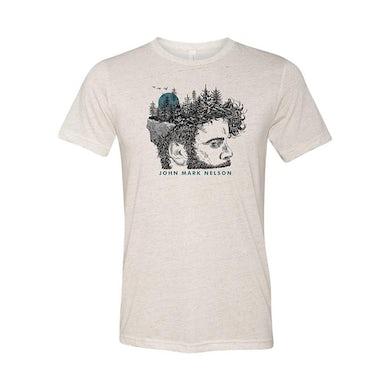 John Mark Nelson Face Tree T-shirt