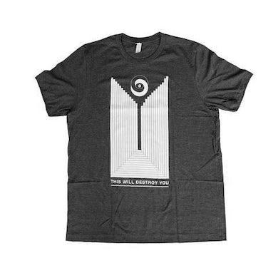 This Will Destroy You Reykjavik Shirt (Charcoal)