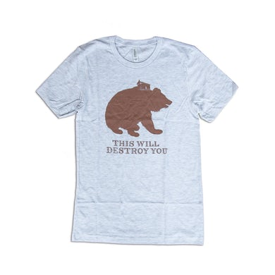 This Will Destroy You Young Mountain Shirt (Ash)