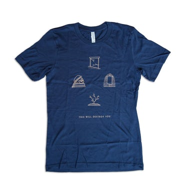 This Will Destroy You Another Language Shirt (Copper)