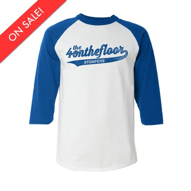 the 4onthefloor Stompers Baseball Tee