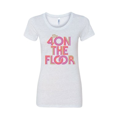 the 4onthefloor 70s Logo Women's Tee