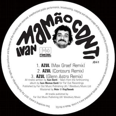 Ivan Conti - Azul (Max Graef, Glenn Astro & Contours Remixes) [2017]