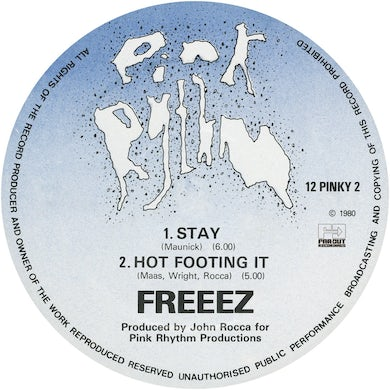 Stay/Hot Footing It [1980]