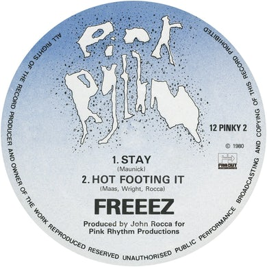 Freeez - Stay/Hot Footing It [1980]
