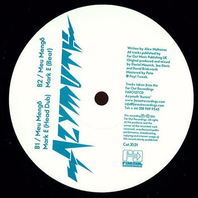Azymuth - Meu Mengô (Mark E Remixes) [2011]