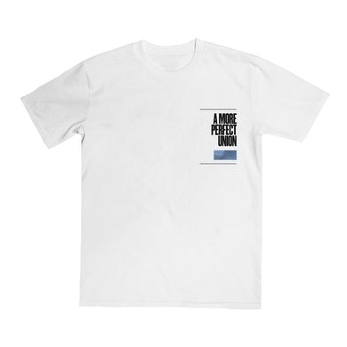 GANG OF YOUTHS White A More Perfect Union Tee