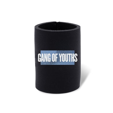 GANG OF YOUTHS BLACK A MORE PERFECT UNION STUBBY HOLDER