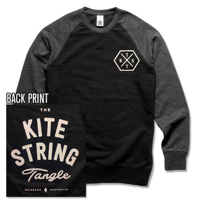 The Kite String Tangle Hex (Contrast Crew)