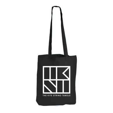 The Kite String Tangle TKST Tote Bag (Black)