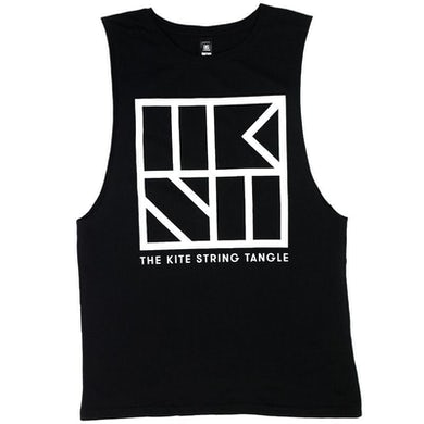 The Kite String Tangle TKST Sleeveless (Black)