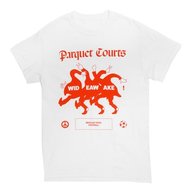 Parquet Courts Beatles Total Football Tee (White)