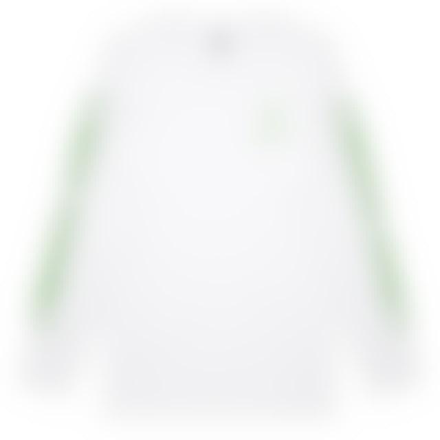Tones And I Logo Long Sleeve (White)