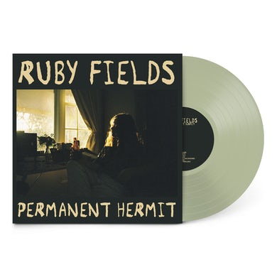 """Ruby Fields Permanent Hermit / Your Dad's Opinion For Dinner 12"""" Vinyl (Seafoam Green)"""