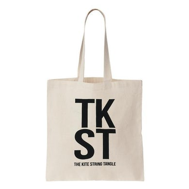 The Kite String Tangle TKST Tote Bag (Cream)