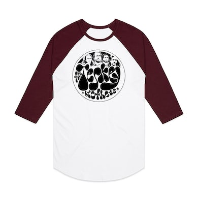 The Teskey Brothers Drumskin Raglan Tee (Burgundy)