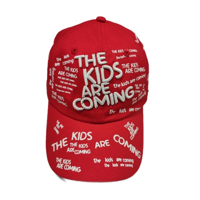 Tones And I The Kids Are Coming Cap (Red)