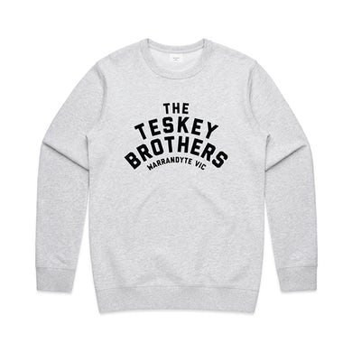 The Teskey Brothers Logo Crewneck (Grey Marle)