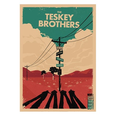 The Teskey Brothers Germany Poster (A2)