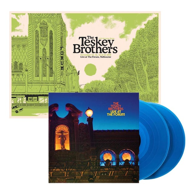 The Teskey Brothers Live At The Forum 2LP + Poster Bundle