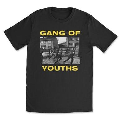 GANG OF YOUTHS Throwback Tee (Black)