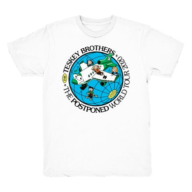 The Teskey Brothers Postponed World Tour Tee (White)