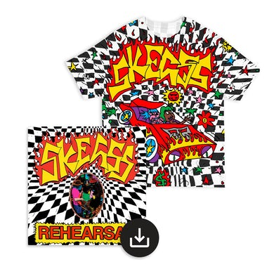 Skegss Check Car Tee + Rehearsal Digital Download