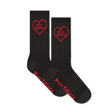 Pist Idiots  Heart Socks