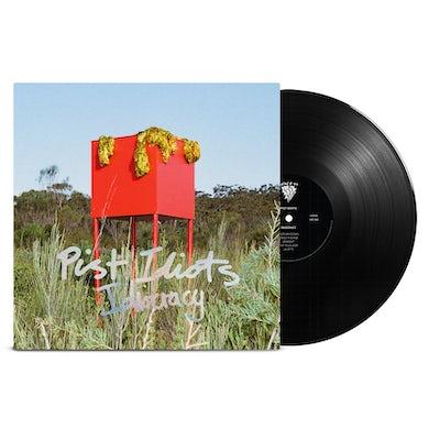 "Pist Idiots  Idiocracy Limited Edition 12"" Vinyl (Heavy Black)"