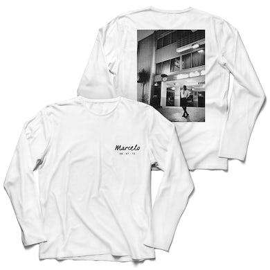 Marcelo Long Sleeve T-Shirt (White)